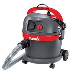 Starmix HS AR-1420 EWS - Строительный пылесос с розеткой для подключения инструмента(модель снята с производства) - фото 4833