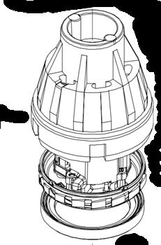 Двигатель для промышленных пылесосов Starmix серии ISC/ISP - фото 5994
