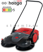 аккумуляторная подметальная машина Haaga 697 Profi